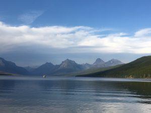 Mountain lake image